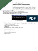 ATP Fisiere Binare Vectori Si Matrice