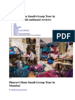 Dharavi Tour Details
