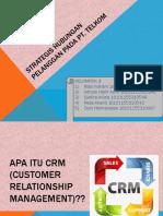 Strategis Hubungan Pelanggan Pada PT.Telkom