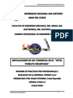 Informe de Practicas Pre Profesionales 1