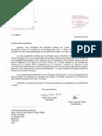 Carta Del Cardenal Sarah Dirigida a Cáritas Del Callao _1