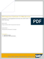 SAP SCM GIS Cookbook WebService Integration 1.3