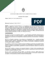 2017. Resolución 1664 17 y Sus Anexos I y II. Educación Inclusiva de Estudiantes Con Discapacidad.