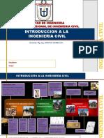 INTRODUCCIÓN A LA INGENIERÍA CIVIL - MAPA CRONOLÓGICO
