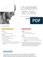 aristotle learning record