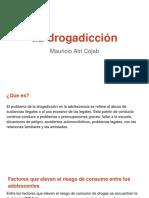 Concepto de drogadicción-Mauricio Atri Cojab