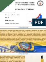 Juan Carlos García--Ingresos en El Ecuador--trab 2 Hemi
