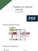Effect Heparin on Wound Healing