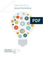 The Complete Guide to Weather Based Marketing