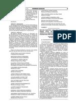 D.S. Nº 033-2018-PCM