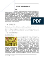 Monografia de Salmonella