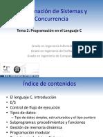 Transparencias de programación en C (Ingeniería Informática - 2º - Programación de sistemas y Concurrencia)