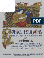 Contes Roumains