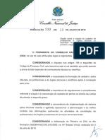 Resoluo n233 13-07-2016 Presidncia