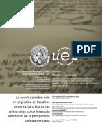 GUSTAVINO Tesis Doctoral La Escritura Sobre Arte en Argentina en Los 60 2014