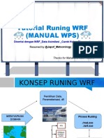 Wrf Runing Manual Data Asimilasi Hujan o