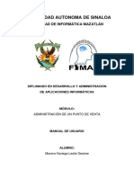 Desarrollo de Administración de Aplicaciones Informáticas 1