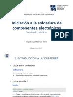 Presentación SOLDADURA