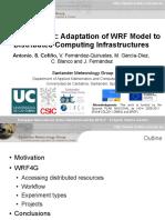 WRF4G Presentation