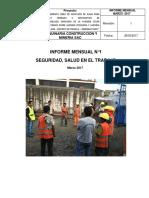 Informe SSO 1 Mes