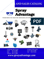 SprayAdvantage 2018 Catalog
