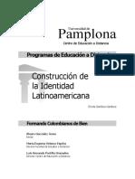 Construccion de La Identidad Latinoamericana