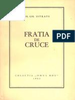 Gh. Gh. Istrate - Fratia de Cruce - ed. 2005