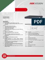Datasheet of DS-7600NI-I2 V3.3.4 20150731