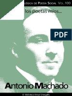 Poemas Antonio Machado