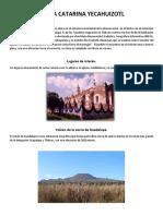 Santa Catarina Yecahuizot-EL pueblo