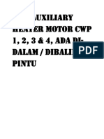 Mcb Auxiliary Heater Motor Cwp 1