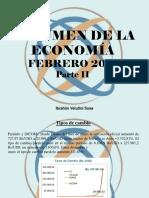 Ibrahim Velutini Sosa - Resumen de La Economía, Febrero 2018, Parte II