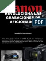 Jesús Augusto Sarcos Romero - Canon Revoluciona Las Grabaciones de Aficionados