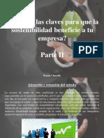 Nestor Chayelle - Conoces las claves para que la sostenibilidad beneficie a tu empresa, Parte II.ppt