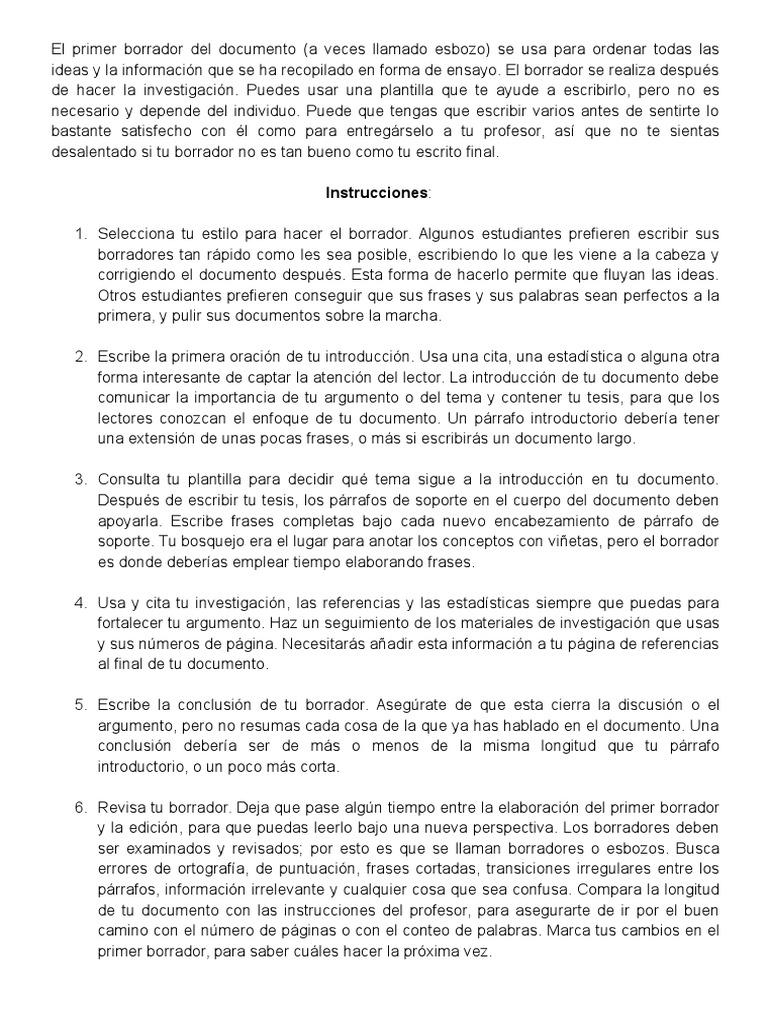 Famoso Plantilla De Ensayo Informativo Viñeta - Ejemplo De Colección ...