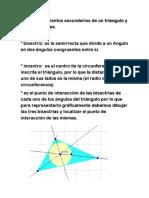 Matematicas Triangulo y Circunferencia