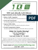 Get Austin Moving Flyer