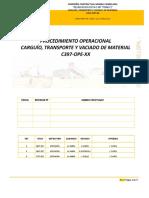 C397-OPE-XX Cargío,Tte y VacMat