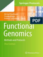 Libro_Funcional Genomics_DNA, RNA and Protein Analysis_Springer Protocols