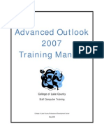 Advanced Outlook 2007