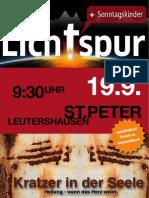 Lichtspur September 2010