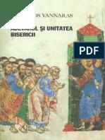 Christos Yannaras-Adevărul şi Unitatea Bisericii  -Sophia (2009).pdf