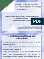 PERPSPECTIVAS LABORALES-Congreso de Ciencias Sociales 2013