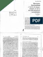 Elster - Marxismo, funcionalismo y teoría de juegos.pdf