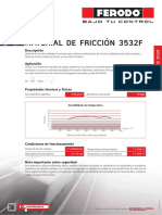 Ferodo Data Sheets 3532F