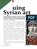 Valuing Syrian Art