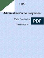 Adm Proyectos Walter Molina DEF Mar 16