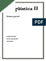 Primer Parcial de Lingüística II