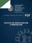 Política de Investigación e Innovación (1)