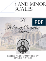 Major and Minor Scales by J.K. Mertz